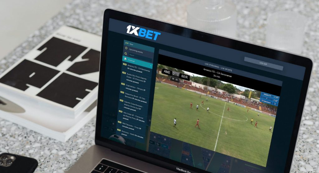 live streaming 1xBet